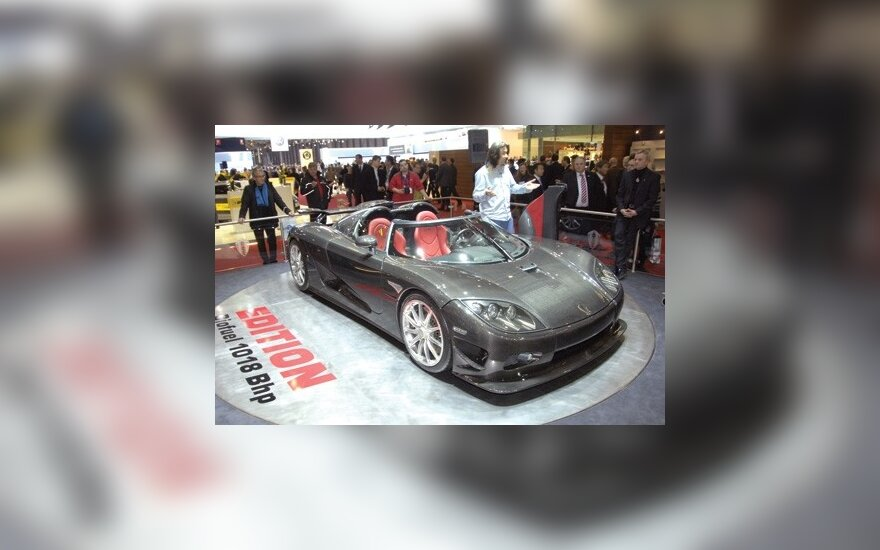 Koenigsegg представит новую модель Agera