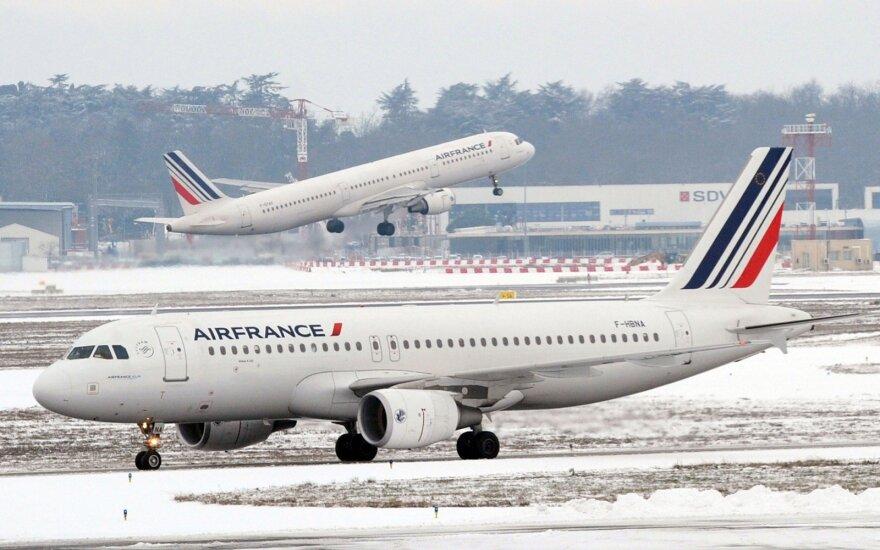 Air France lėktuvas