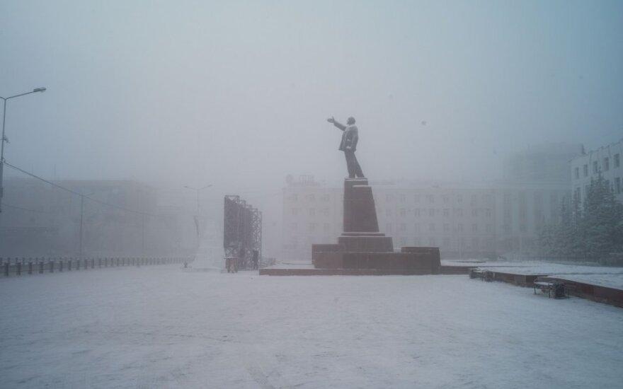 Jakutskas žiemą