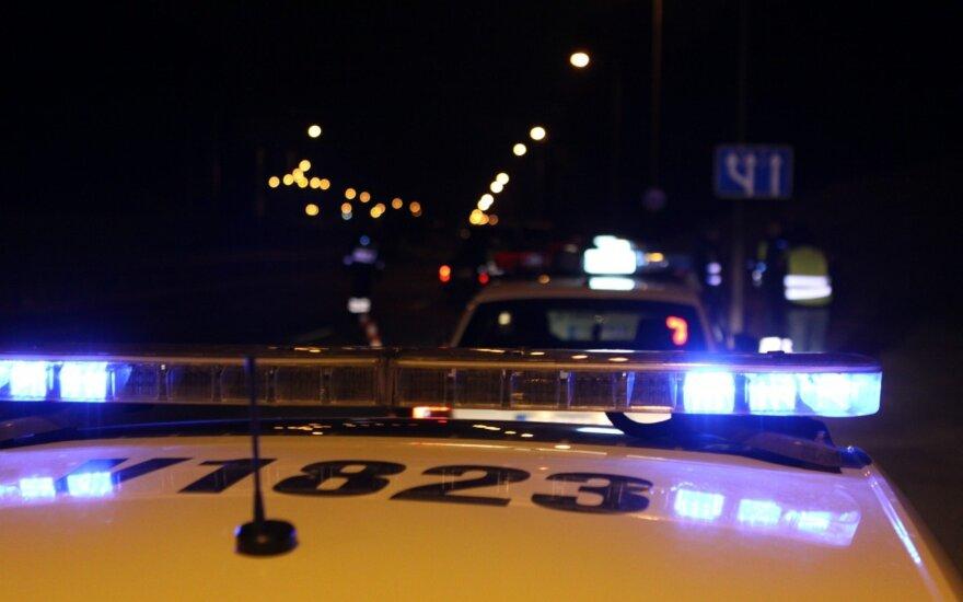 В Каунасском районе полиция преследовала нарушителей