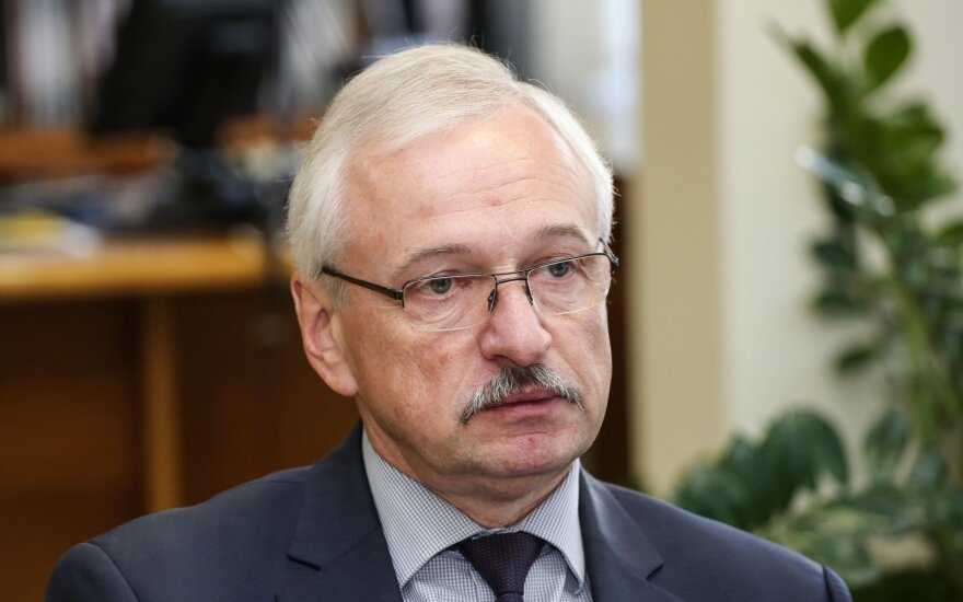 Minister of Economy Evaldas Gustas
