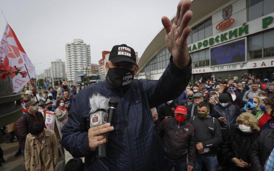 В Гродно задержали блогера Сергея Тихановского