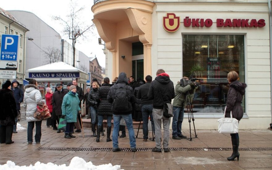 Ассоциация инвесторов: крах банка Ūkio bankas будет стоить больше, чем крах Snoras