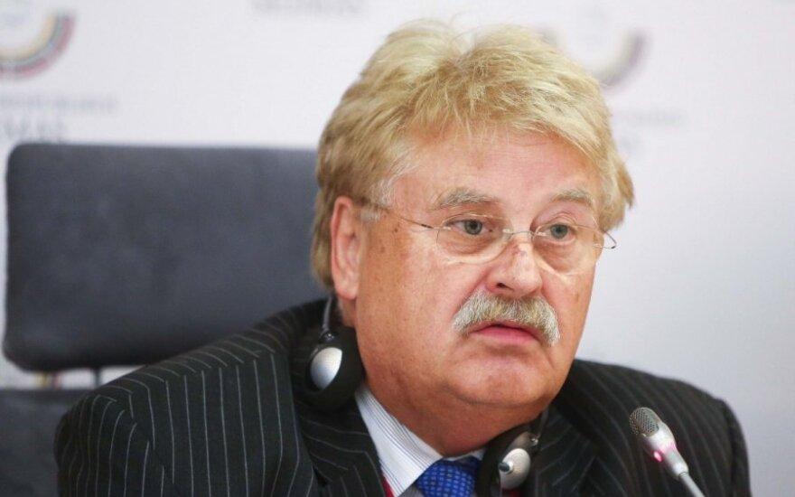 Элмар Брок: о приглашении Лукашенко на саммит в Ригу надо дискутировать