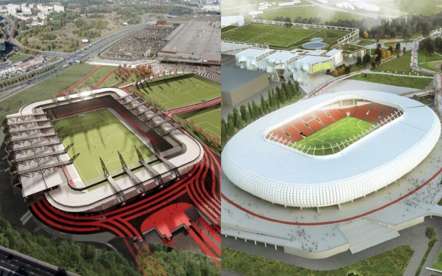 Новая интрига в истории строительства Национального стадиона: может остаться лишь один проект