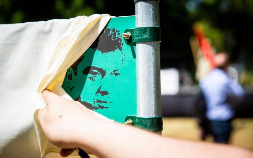 На этой неделе в Вильнюсе будет открыт сквер имени Бориса Немцова