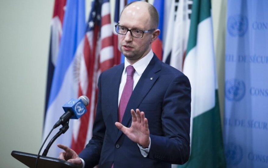 Яценюк: если РФ попробует захватить восточные регионы, Украина отреагирует жестко