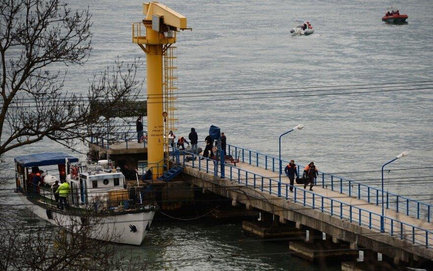 Первый самолет с телами погибших в катастрофе Ту-154 прибыл в Москву