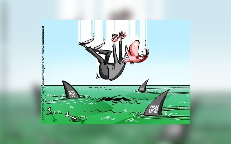 Кубилюс обещает защиту от налогового хаоса, но не от новых налогов