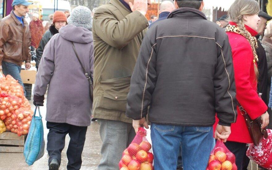 Nowy market na byłym przejśćiu granicznym w Ogrodnikach
