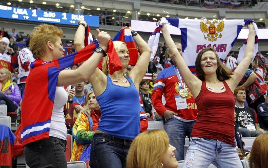 Rusų sirgalės