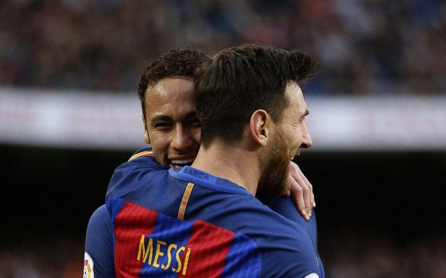 """Barcelona"" žvaigždė Lionelis Messi"