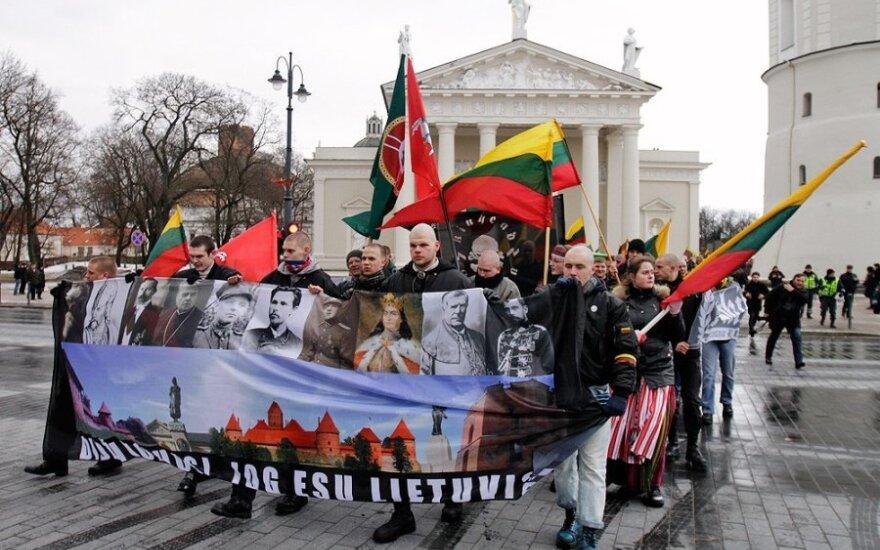 Litewskim narodowcom zezwolono na marsz centralnymi ulicami Wilna