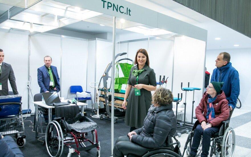 Techninės pagalbos neįgaliesiems centro ekspozicija