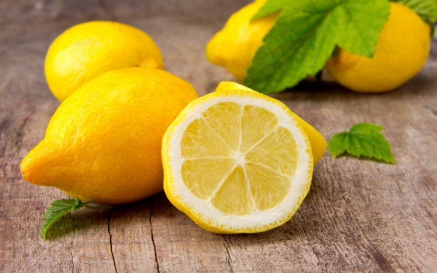 Лимоны – солнце для кожи