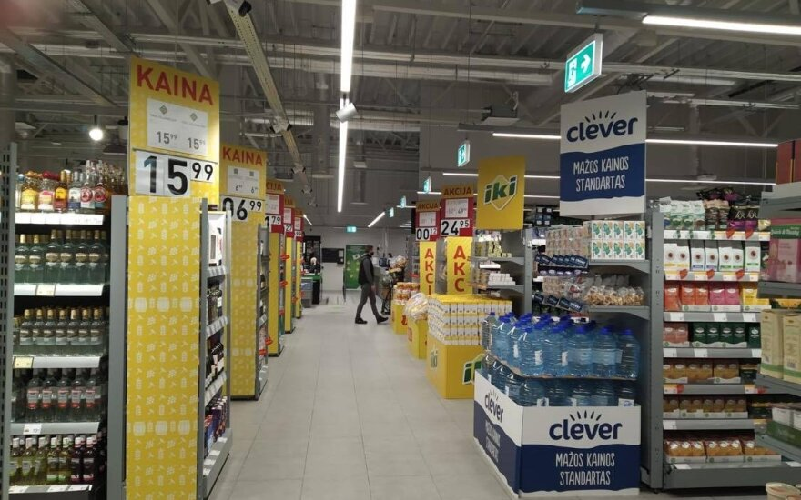 Naujoje parduotuvėje būtina dezinfekcija ir bus griežtai prižiūrimi srautai.