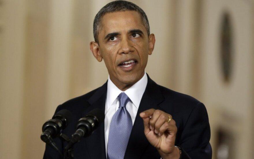 Barackas Obama kreipiasi į tautą