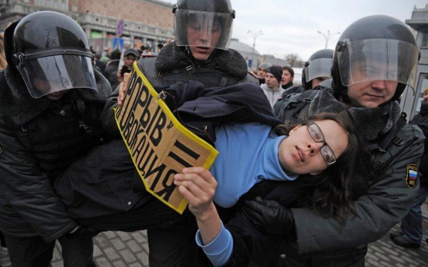 Дегутене: события в России дают надежду на то, что в будущем ситуация изменится