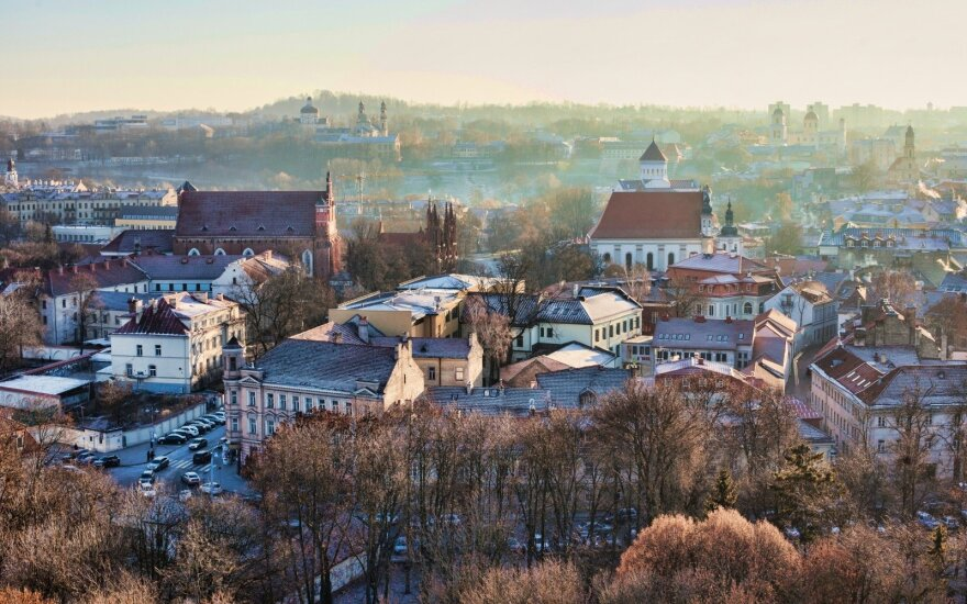 В Вильнюсе быстро растет число туристов: лидируют немцы