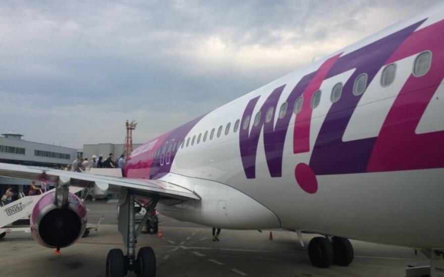 В вылетевший из Вильнюса самолет ударила молния