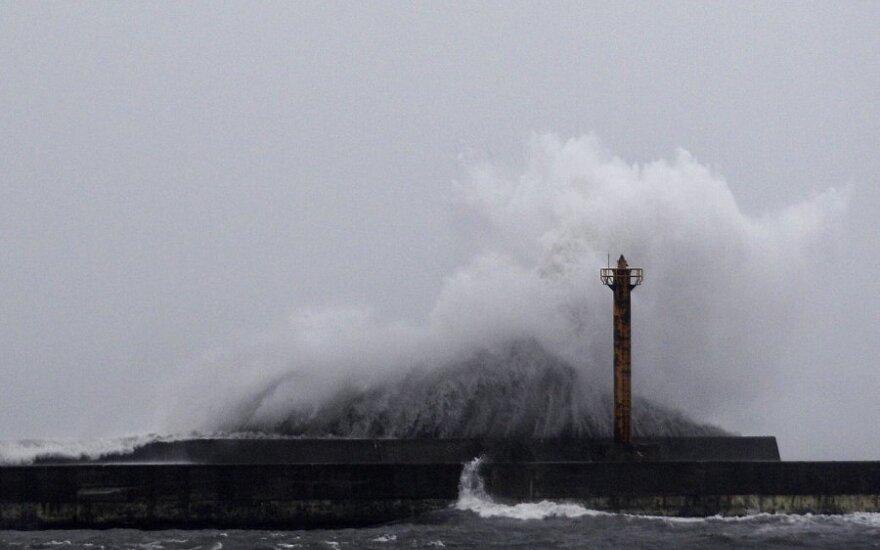 Японию накрыл мощный тайфун: отменены 300 авиарейсов