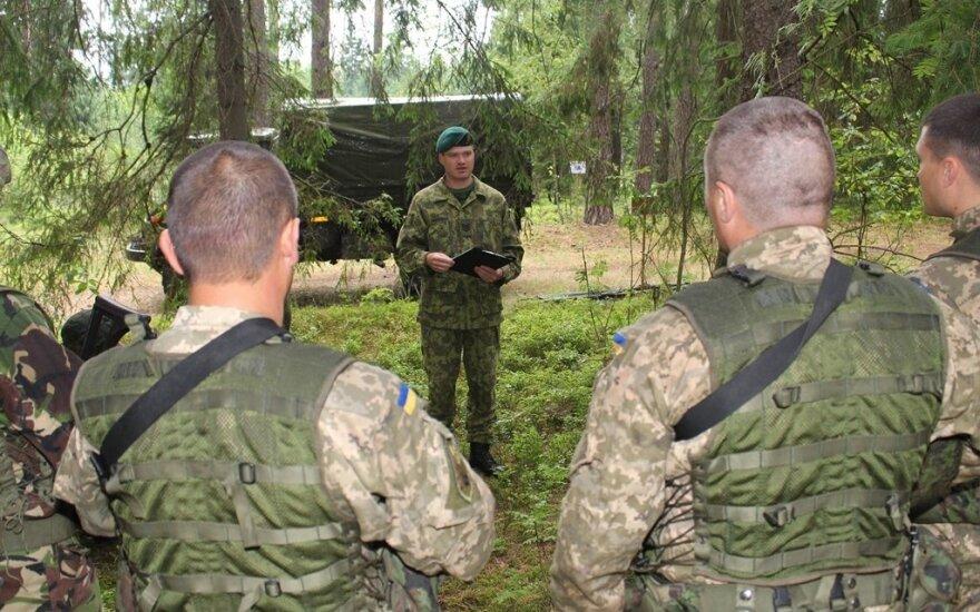 Миссия литовских инструкторов на Украине получила международный статус