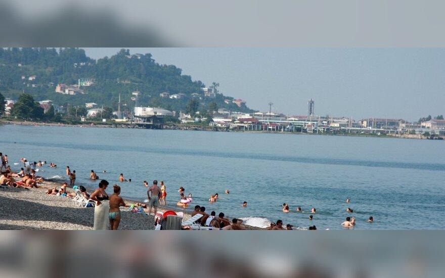 Batumio (Gruzija) paplūdimys
