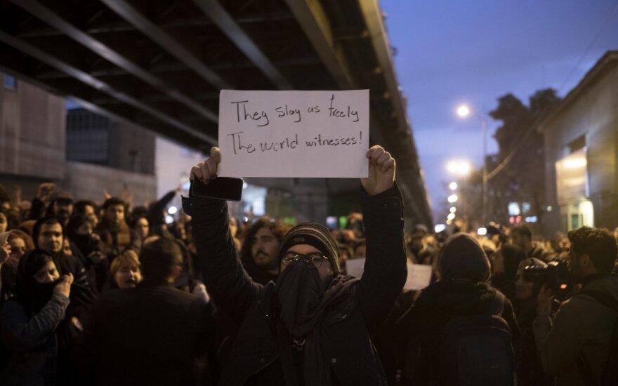 """""""Наш враг не Америка, наш враг тут:"""" Иран охватили протесты после признания вины за сбитый украинский самолет"""