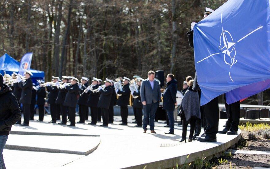 Palanga minėjo Lietuvos narystės NATO 15 metų sukaktį