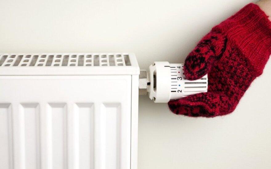 В Вильнюсе уже нагреваются радиаторы