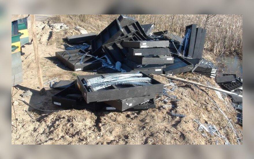 Plastiko atliekos rastos Šilainiuose