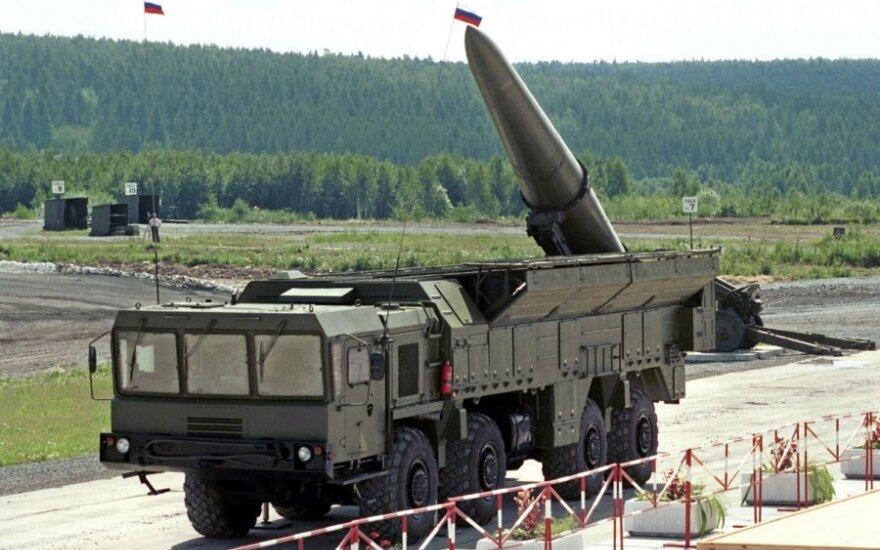 """Rusijos raketos """"Iskander"""""""