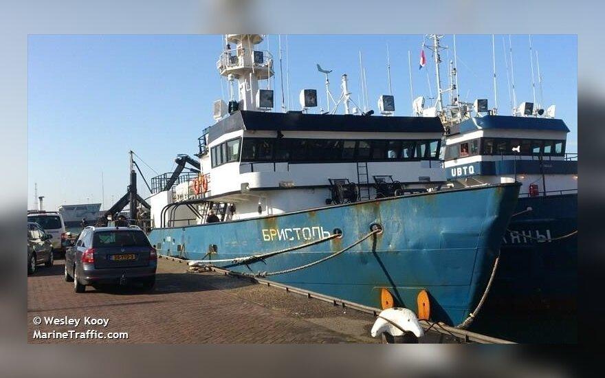 Российский суд на месяц отложил рассмотрение дела литовского судна