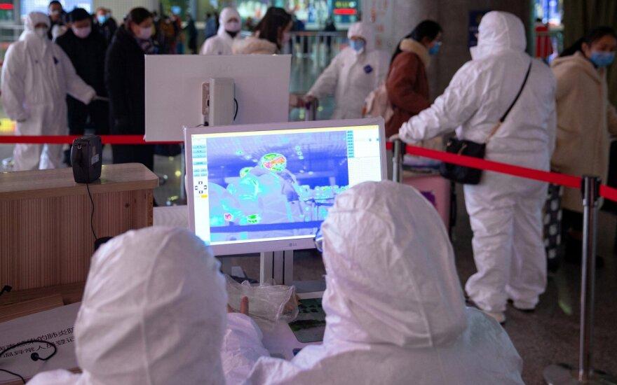 Koronavirusas Nandzingo, Kinijos, mieste