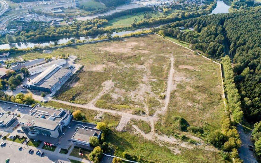 Начнутся работы по строительству ТЦ Akropolis у парка Вингис в столице Литвы