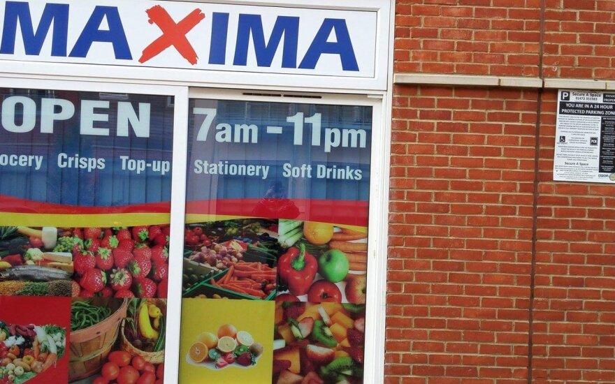 Parduotuvė Anglijoje