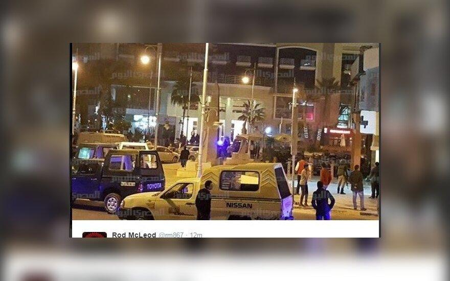 Террористическая атака на отель в Хургаде: трое нападавших убиты