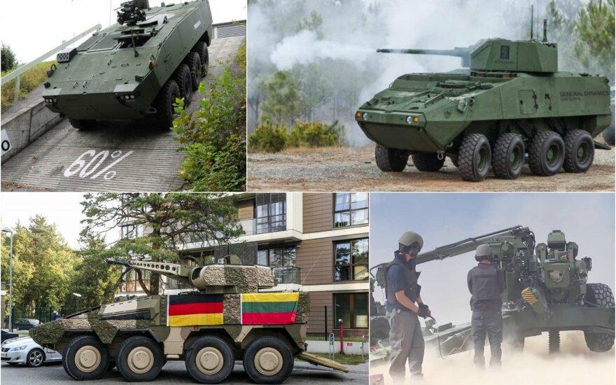 Госсовет по обороне Литвы отдал предпочтение немецким БМП Boxer