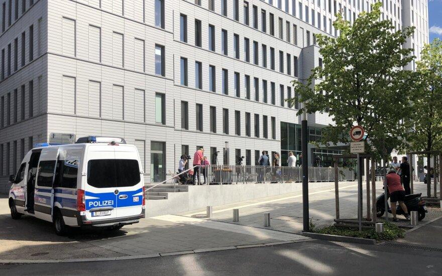 Ligoninė Vokietijoje, kur gydomas Aleksejus Navalnas