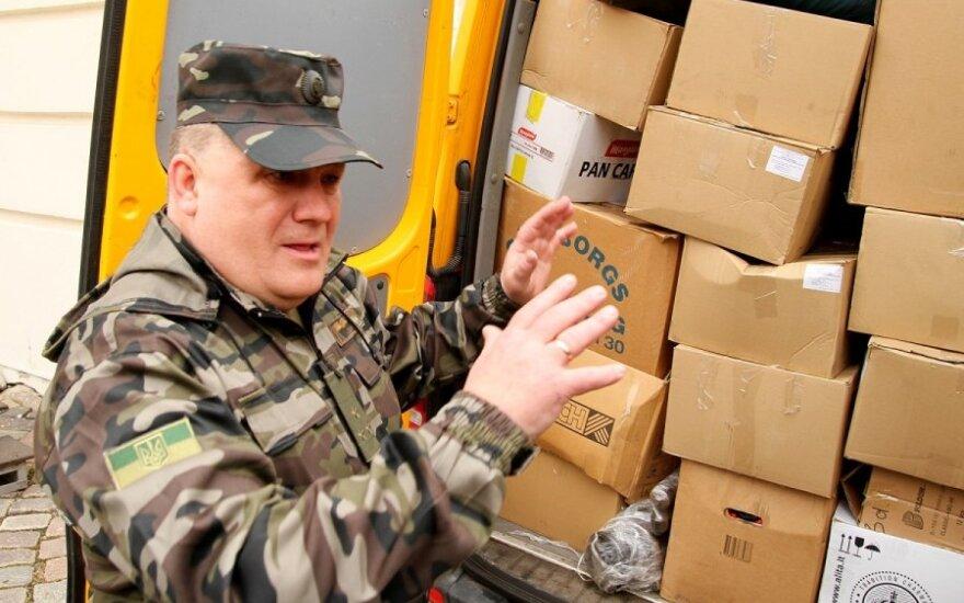 Из Каунаса отправили помощь на Украину