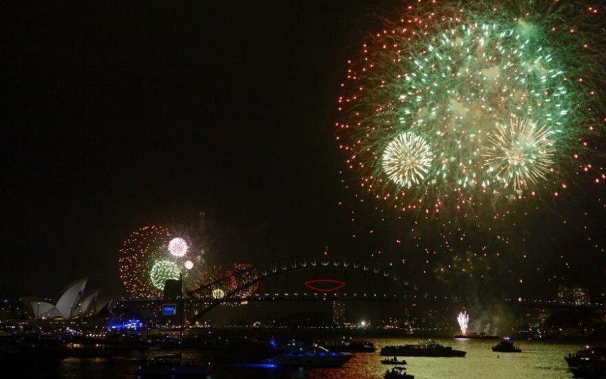 Naujieji metai Australijoje