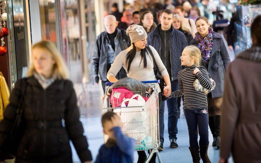 Как литовские торговые центры будут работать в дни зимних праздников