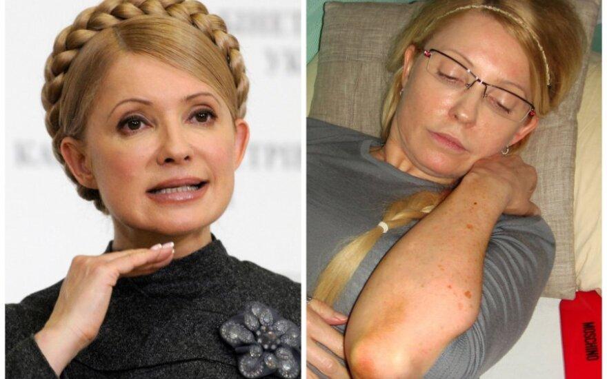 Тимошенко разрешили встретиться с Грибаускайте