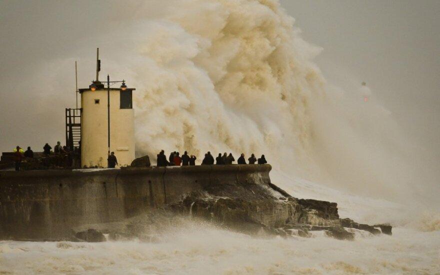 Potvyniai D. Britanijoje
