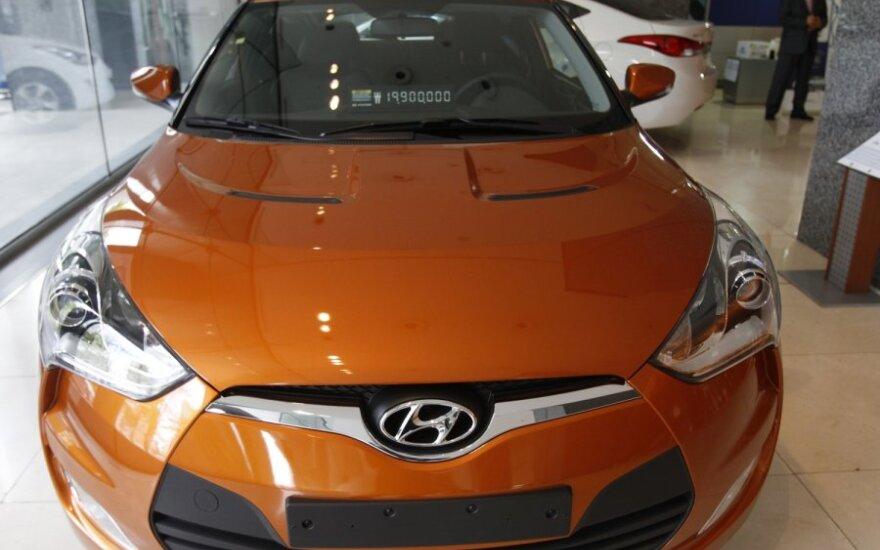 Hyundai Veloster — ассиметрия и псевдо-спорт