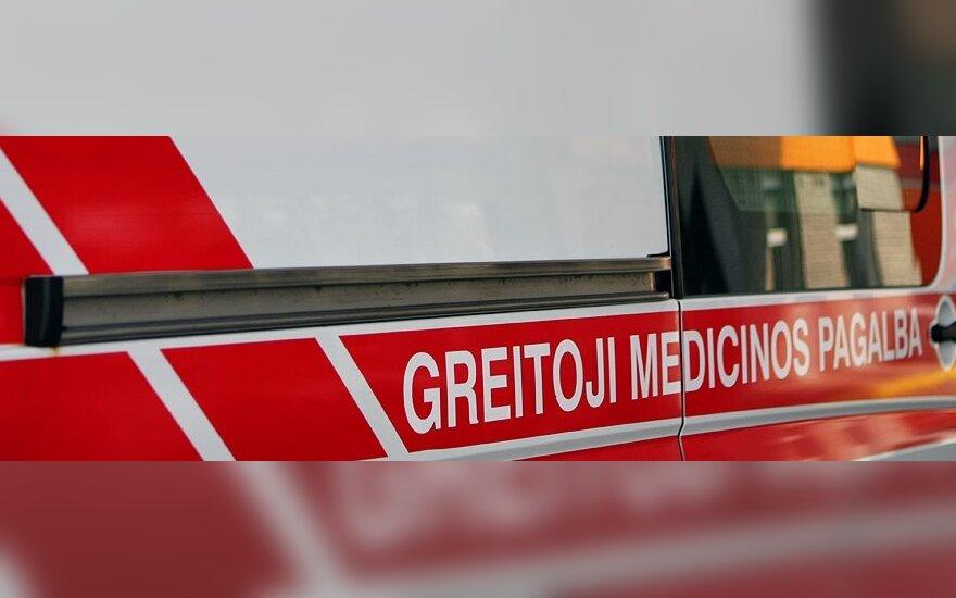Во время аварии в Вильнюсском районе пострадали пять человек
