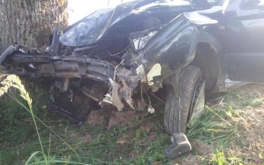 В аварии погибла пассажирка
