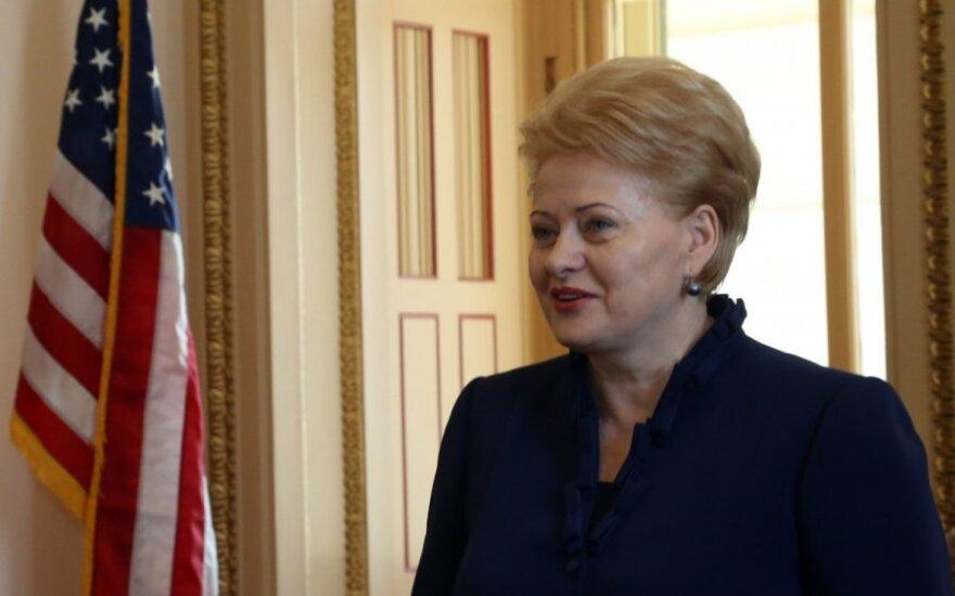 Президент Литвы приветствует санкции США в отношении России