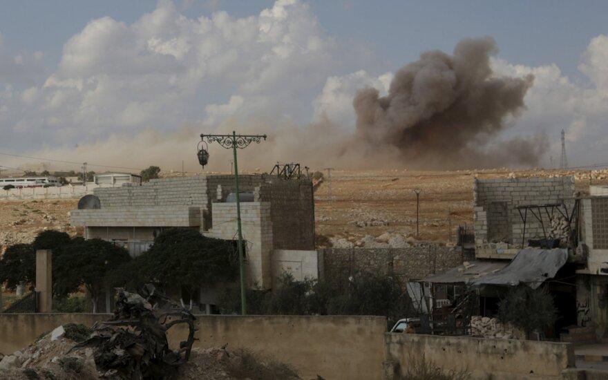 Россия нанесла удары в окрестностях Пальмиры