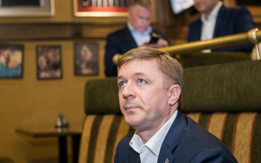 Карбаускис не представляет беседу с Шимоните как с президентом страны